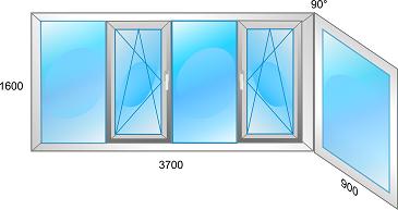 Balkonų stiklinimas kainos