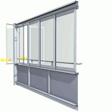 Balkonų stiklinimas ir garso izoliacija