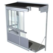 Balkonų stiklinimas rėminėmis sistemomis